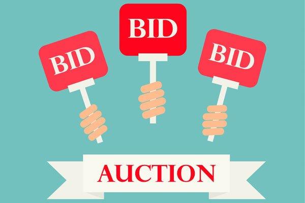Online Auction Begins Dec 9 – Bids Accepted Until Dec 11